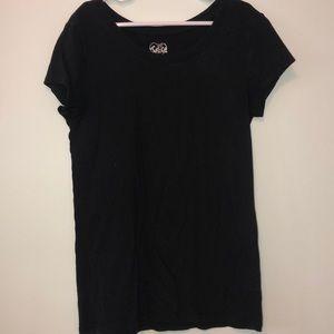 black justice shirt